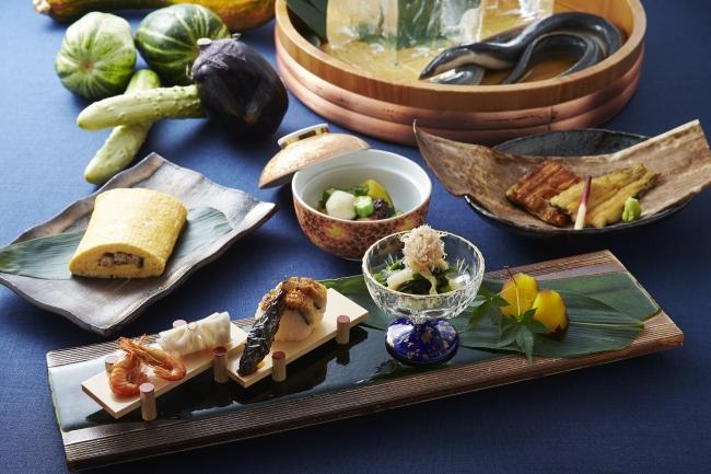 「天然鰻となにわの伝統野菜」イメージ