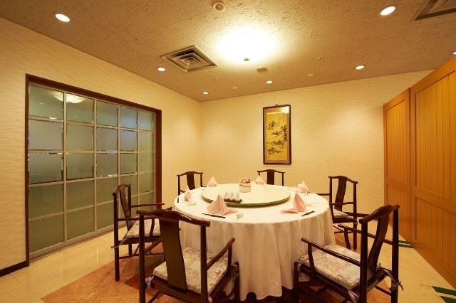 中国料理 桃李 半個室