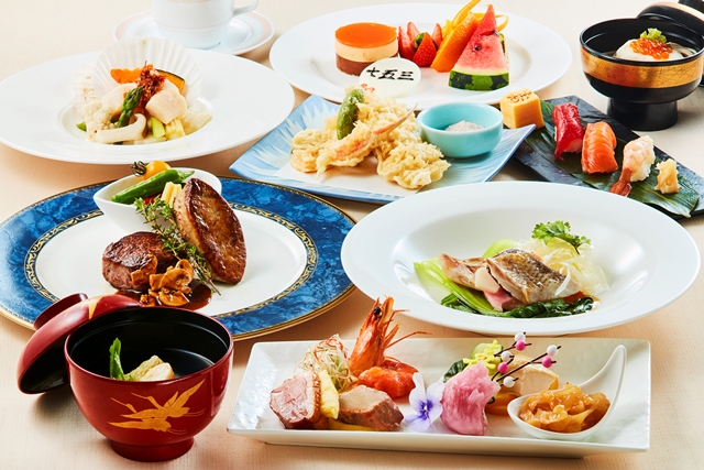 中国料理「桃李」七五三和洋中折衷料理 イメージ写真
