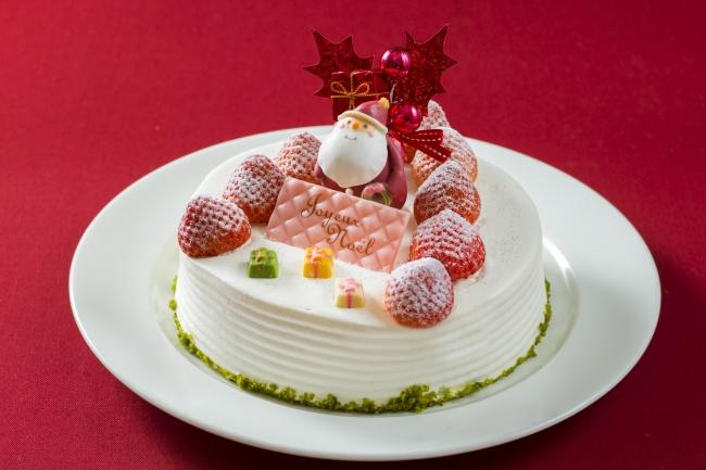 苺のクリスマスショート