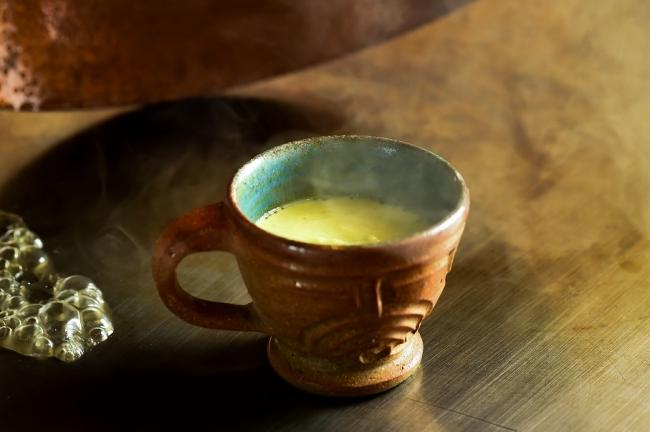 枝豆の茶碗蒸し