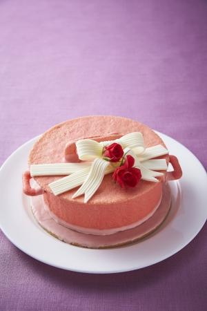 「母の日」ケーキ