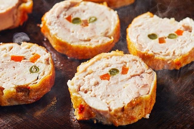 9月22日~30日 青森県 銘柄鶏「桜姫鶏」のバロンティン 彩り野菜と共に