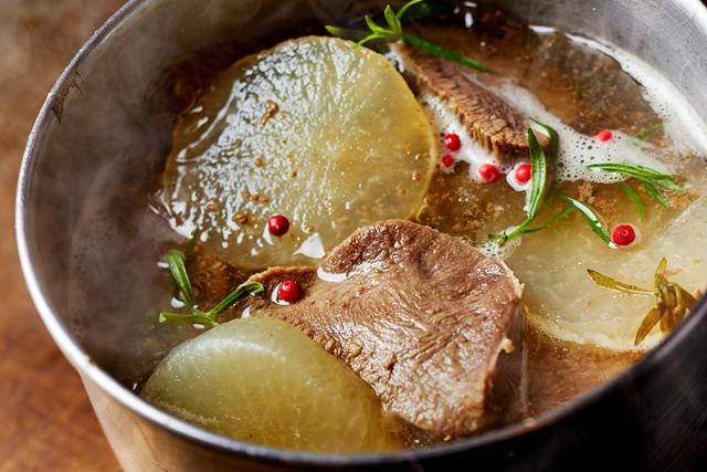 9月8日~14日 宮城県 牛タンと大根のやわらか煮 エストラゴンの香り