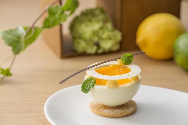 「エッグ シトラス」(アメリカ産乾燥卵を使ったスイーツ・ベーカリーシェフコンテスト スイーツ部門最優秀賞)