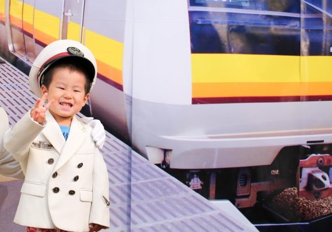 JR東日本 川崎駅「駅長さんになって、記念写真を撮ろう!」