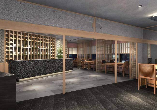 日本酒カウンター