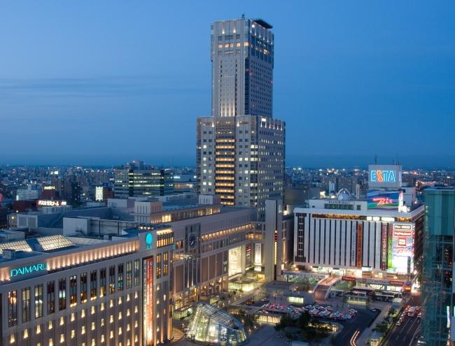 JRタワーホテル日航札幌 夕景(イメージ)