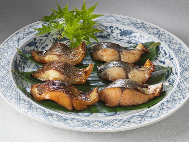 焼き魚セット調理イメージ