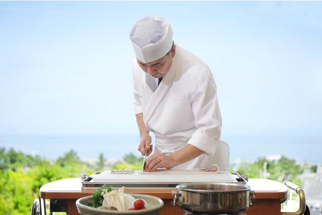 日本料理「あわみ」調理イメージ