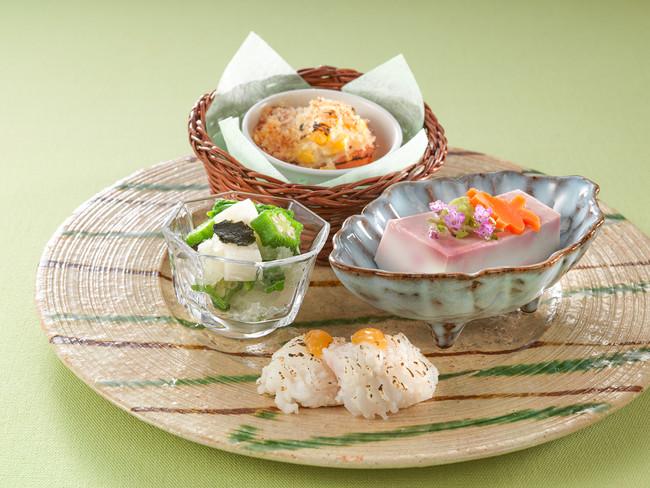 日本料理 あわみ 前菜