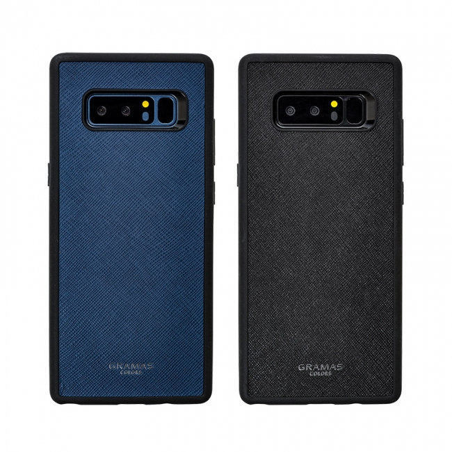 【GRAMAS COLORS】2017年新型スマートフォン Galaxy Note8専用シェル型ケースが新登場!