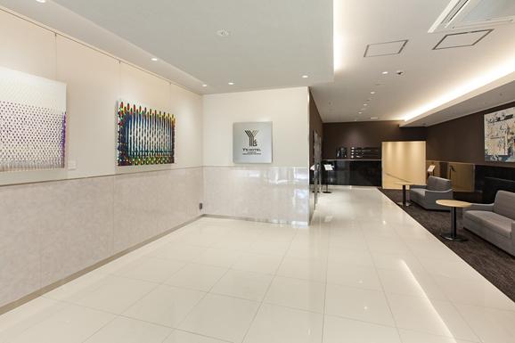 「ワイズホテル阪神尼崎駅前」1階アートホール