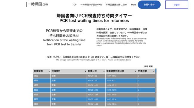 成田 空港 pcr 検査