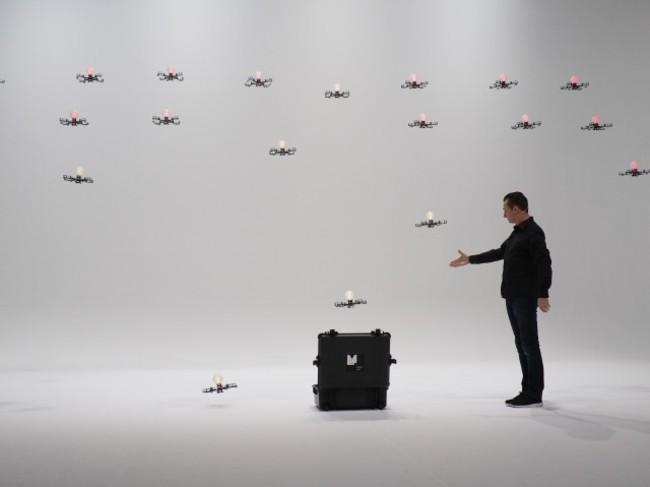 MagicLab + Rhizomatiks Research - 24 Drone Flight (C)︎images by Carmen Kam