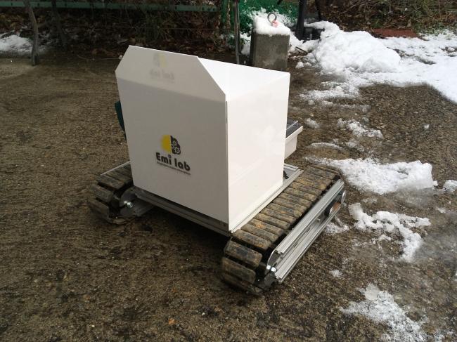 汎用クローラユニット「CuBase」を活用した開発品