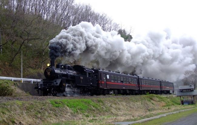 真岡鉄道の「SLもおか」
