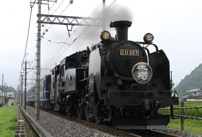 東武鉄道のSL「大樹」