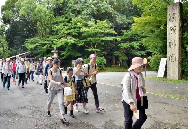 第1回大会「奈良エリア」の様子(6月29日)