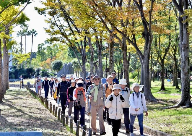 第2回大会「大阪エリア」の様子(11月2日)