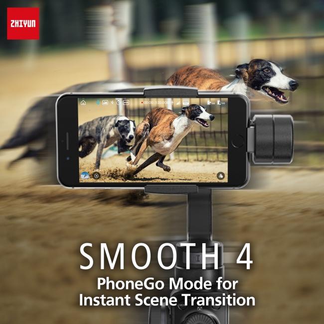 3.撮影対象を高速で切替できるPhoneGo(フォンゴー)モード搭載