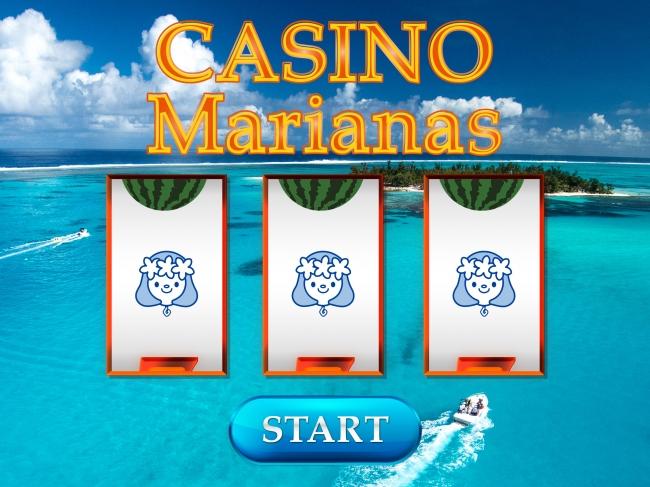 スロットゲーム「Casino Marianas」では計2000個の賞品を用意。