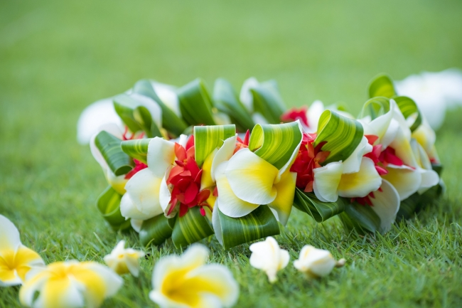 マーマー(花冠)の手作り体験
