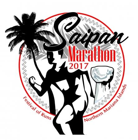 サイパンマラソン 大会ロゴ