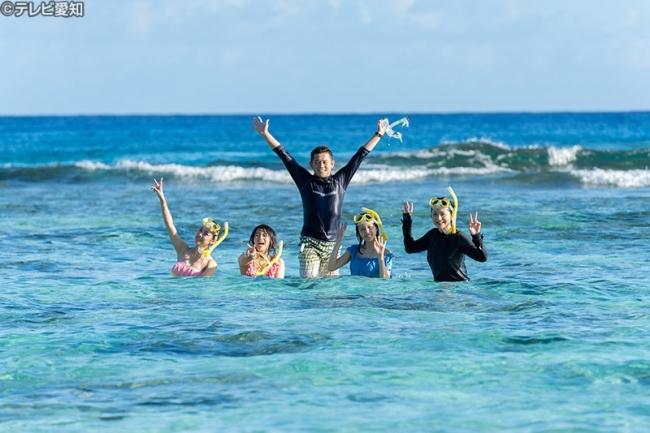 オブジャンビーチで人気のシュノーケリング体験
