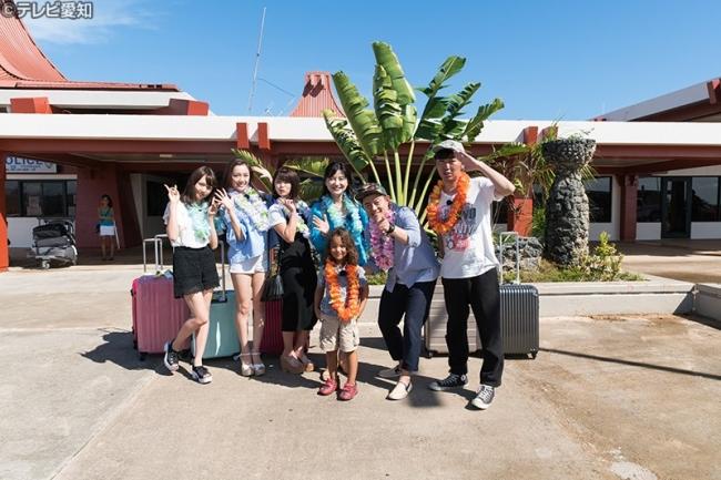 マリアナ観光大使のマリアナちゃんもサイパン国際空港でお出迎え!