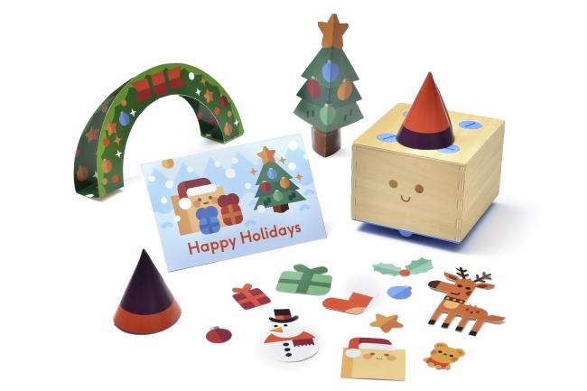 パッケージの絵を切り抜くとキュベットの冒険がより楽しくなる目印やカードをつくれます