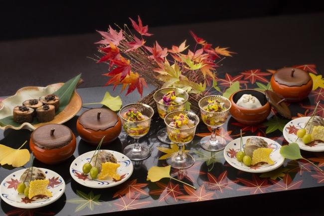 うかい竹亭のオリジナルディナー(イメージ)