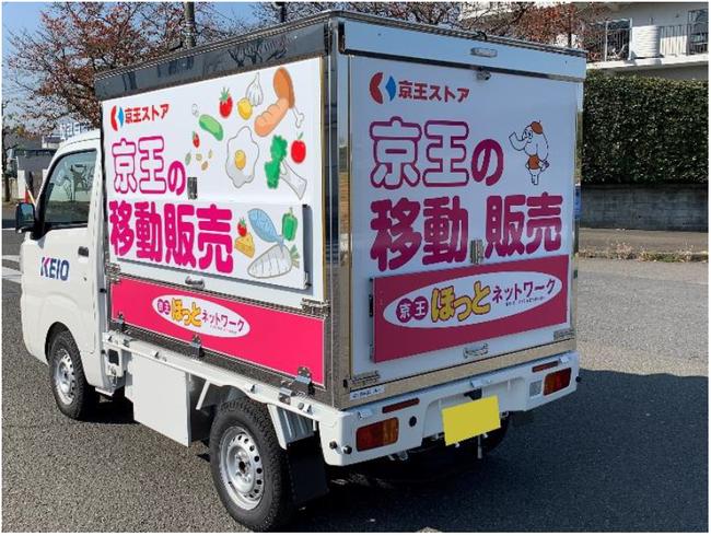 新たに導入する移動販売車