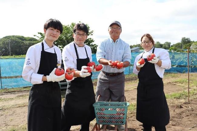 ≪宮北農園での収穫風景≫