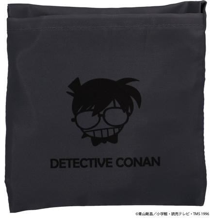名探偵コナン エコバッグ ブラック
