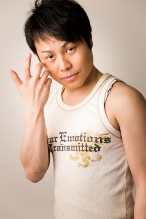 かなりの大人数を「抱き」にはるばる佐賀までやって来てくれるNON STYLE井上裕介氏。
