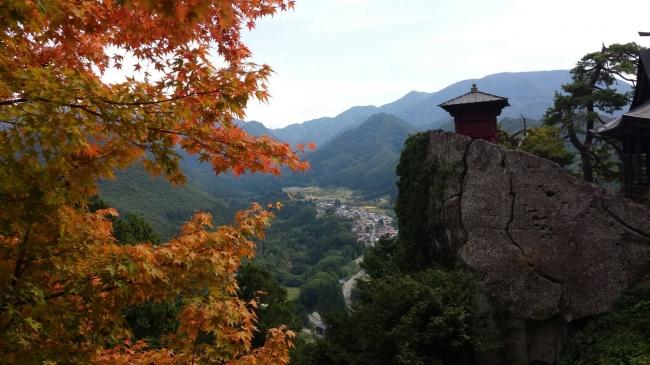 松尾芭蕉で有名な山寺