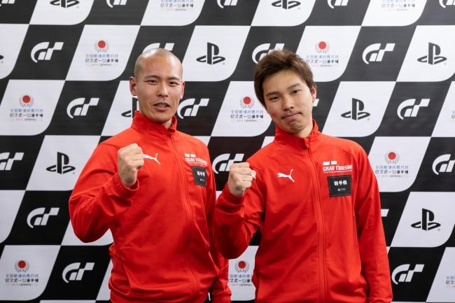 左から、岩手県 一般の部・1位の柳瀬大生選手、2位の岡田綾介選手。