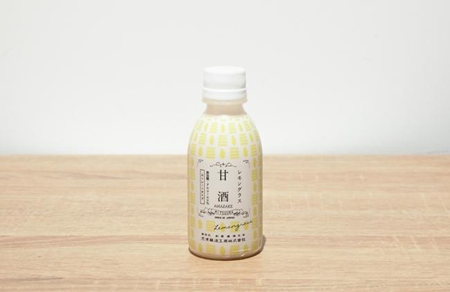 レモングラスの香りが爽やかなストレート甘酒
