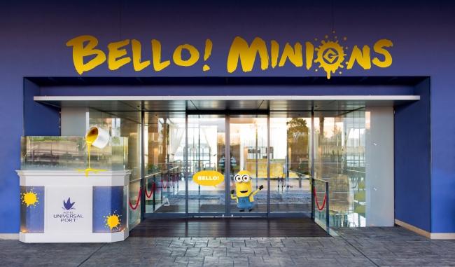 「BELLO!」ミニオンがごきげんでお出迎え!