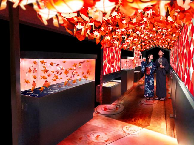 金魚づくしの夏限定イベント「東京金魚ワンダーランド」イメージ
