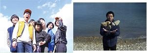 「星空の楽団」に10月8日に出演するバレーボウイズ(左)、松野泉