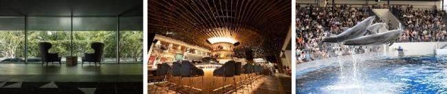 クロスホテル京都、KIHARU Brasserie、京都水族館