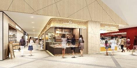 商業エリア1階イメージ