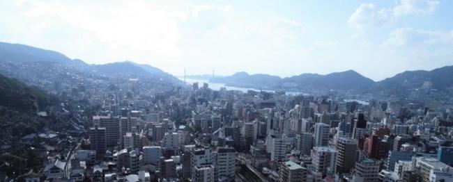 高層階からは長崎湾を一望