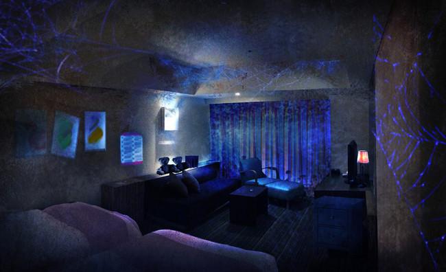 前作「PLAY ~少女の招く部屋~」客室(イメージ)