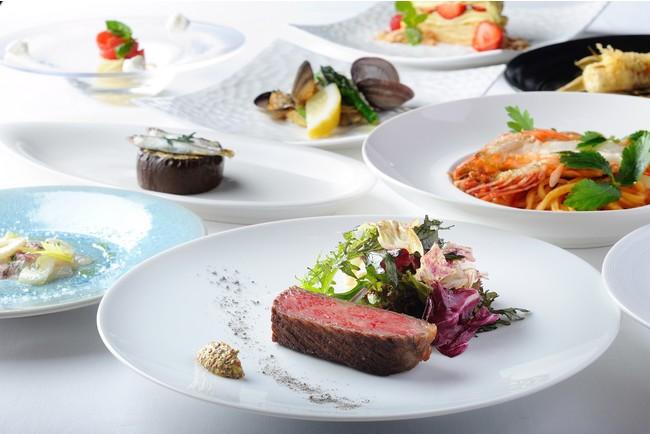 「LA SORA SEED FOOD RELATION RESTAURANT」のフルコースディナー(イメージ)