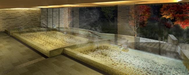 四季の露天風呂 棚湯(庭園ビュー) ※イメージ