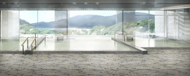 四季の露天風呂 棚湯(芦ノ湖ビュー) ※イメージ