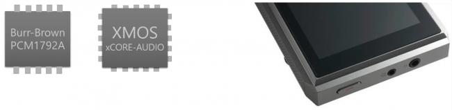3.5mmフォンジャック(光出力・ラインアウト兼用)と2.5mmバランスジャック